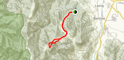 Malino Trail Map