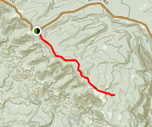 Fortyseven Trail Map