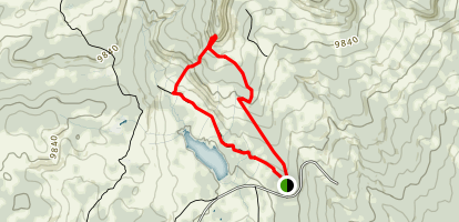 Base Camp to Mountain View Trail Map