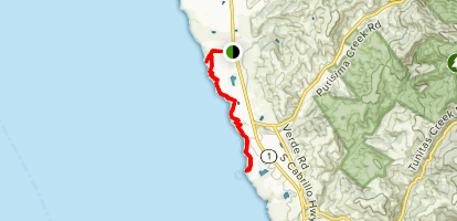 Cowell-Purisima Trail Map