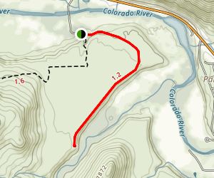 Williams Fork River Trail Map