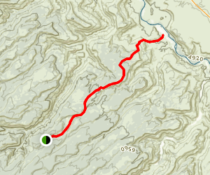 Gunnison Trail Map
