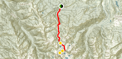 Capitol Peak Map