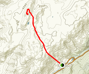 Mt Kosciuszko Walk Map