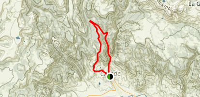 Bachelor Mountain Loop Map