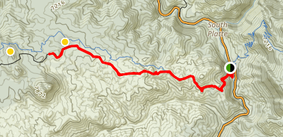 Raleigh Peak Map