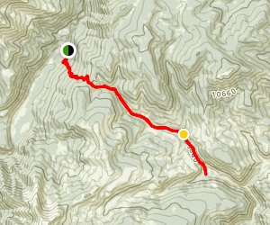 Deadman's Gulch Trail Map