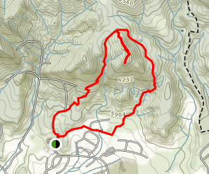 Colorow Trail Map