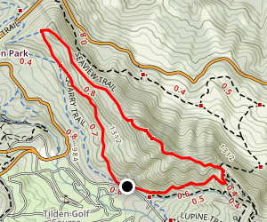 Upper and Lower Big Springs Loop Trail Map