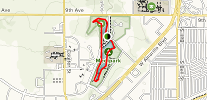 Medipark Loop Trail Map