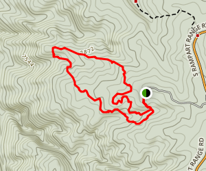 Red Mesa Loop Map