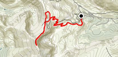 Horseshoe Mountain Map