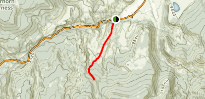 Rough Creek Trail Map