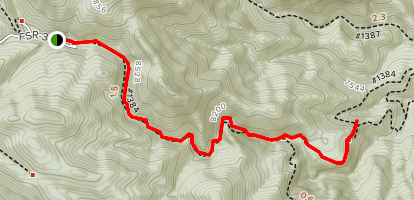 Squirrel Creek Map