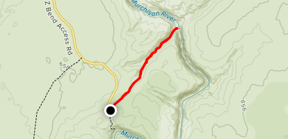 Murchinson River Gorge Trail Map