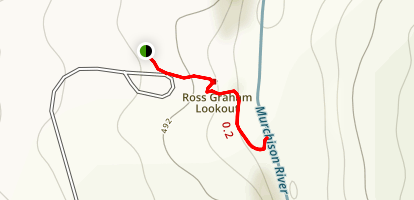 Ross Graham Lookout Map