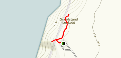 Shellhouse and Grandstand Map