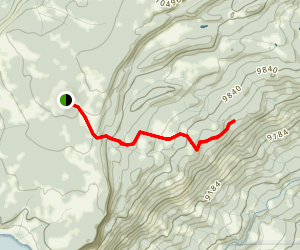 Bull and Brown Trail Map