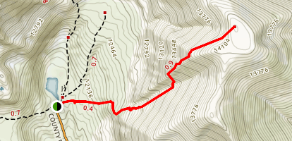 Mount Buckskin Trail Map