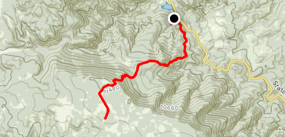 Snowslide Trail Map