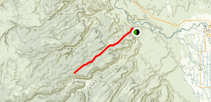 McCarthy Trail Map