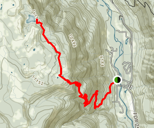 Ruybalid Trail Map