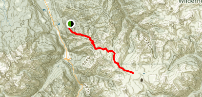 Horsethief Trail Map