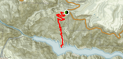 Hermits Rest Trail Map