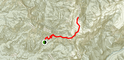 Quartz Lake Trail Map