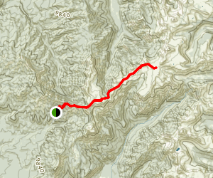 Little Blanco Trail Map