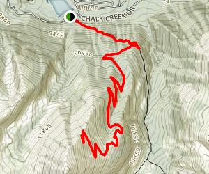 Boulder Mountain Trail Map