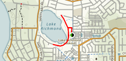 Lake Richmond Map