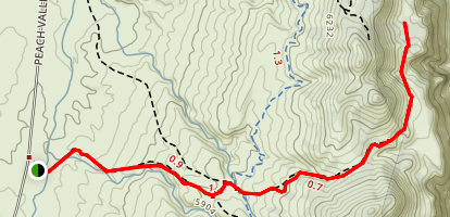 Gunison Gorge Wilderness Trails Map