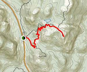 Mont Lac-des-Cygnes Summit Map