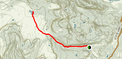 Red Lake Trail Map