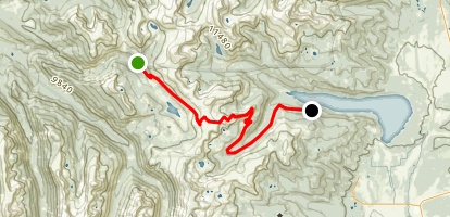 Hagerman Pass Road Map