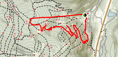 Durango Mountain Resort Downhill Run Map