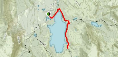 Trappers Lake Trail Map