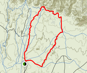 Chutes and Ladders Loop Trail Map