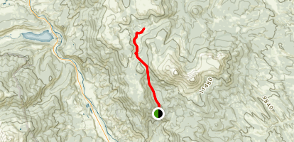 Tumble Creek Trail Map
