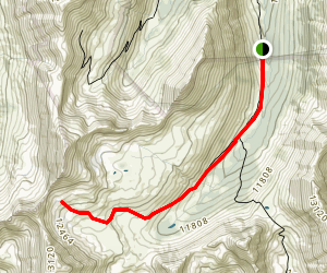 South Fork of Lake Creek Map