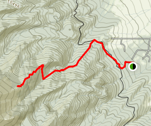 Horn Peak Trail Map