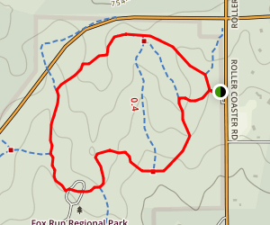 Fallen Timbers Trail Map