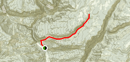 Hadley Gulch Trail Map