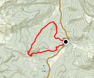 The Colorado Trail and Timberline Lakes Trail Map