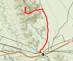North Anthony's Nose Via Sierra Vista Trail Map