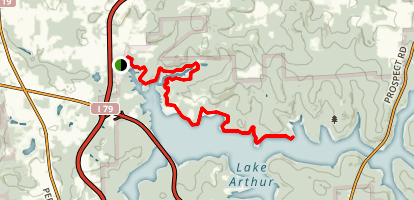 Moraine State Park Bike Trail Map