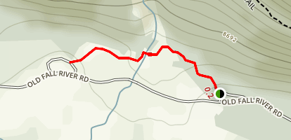 Alluvial Fan Trail Map
