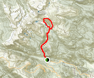 Mummy Mountain Trail Map