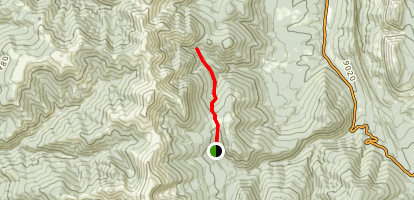 Indian Creek Trail to Baker Creek Map